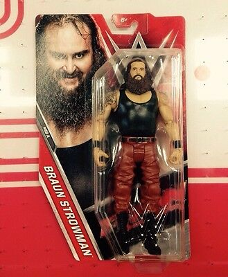 Wwe Braun Strowman Series 68 Figure New Very Rare