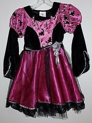 """Rubie's """"Party Witch"""" Costume, Girl's Party Dress Size Small - Pink"""