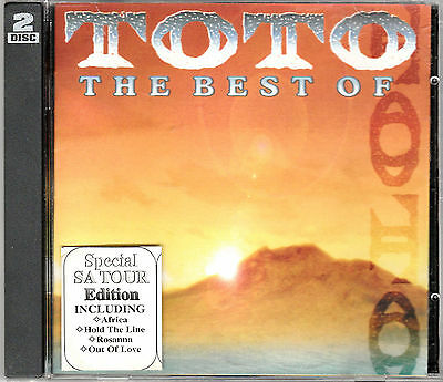 The Best Of Toto MINT CD 2CD Special South Africa Tour Edition RARE Hits Live CD