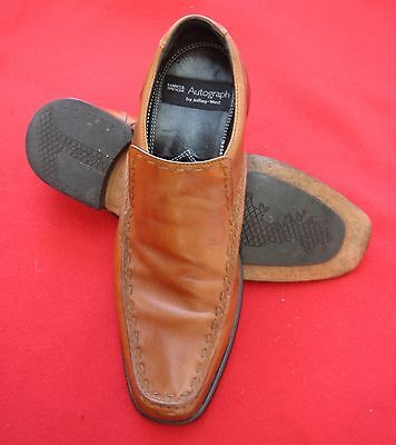 JEFFERY WEST. For. Marks & Spencers. SIZE UK.8.Tan. Slip On Shoes.