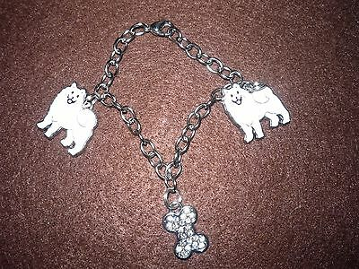 Samoyed Dog Bracelet
