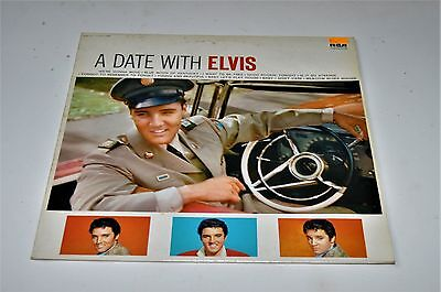 Vinyl Album Elvis Presley A Date With Elvis Looks Unplayed