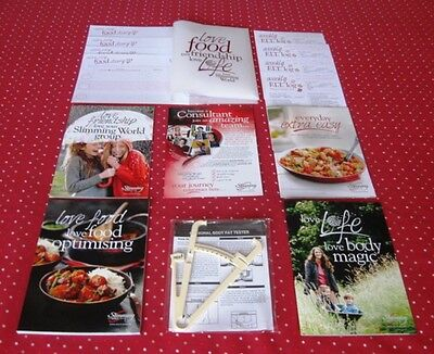 Slimming World Starter Pack, Updated + Every Day Extra Easy Recipe Book !