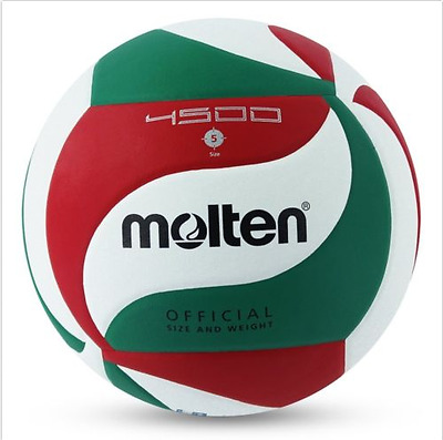 Volleyball Ball Indoor Outdoor Volley Game Official Size 5 Molten 4500 Leather