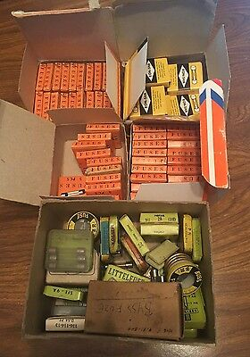 Huge Lot of Vintage Fuses - Ron-Sha, Littelfuse, misc. NOS - Various Amps