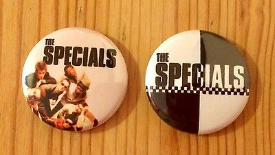 The Specials (Band) / Ska - Set Of 2 Button Pin Badges