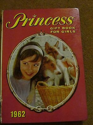 Princess Gift Book for Girls annual 1962