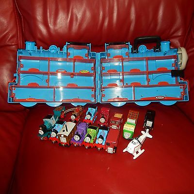 take and play thomas the tank engine trains with 3D carry case
