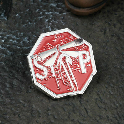 Game The Last of Us Part 2 Firefly Symbol Metal Badge Brooches Pin 25*25mm Hot