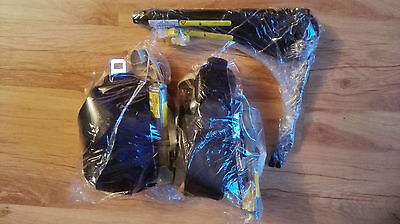 Original Fiat 500 Front Seatbelts (Pair) Left+Right With Pretensioners