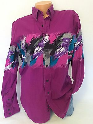 80's vintage western button down shirt rodeo shirt southwestern shirt Roper