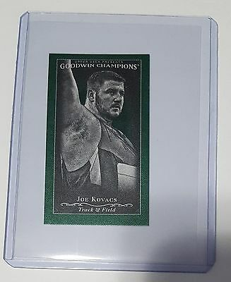 2016 UD Goodwin Champions - Cloth Mini Lady Luck #134 - Joe Kovacs - 2/25