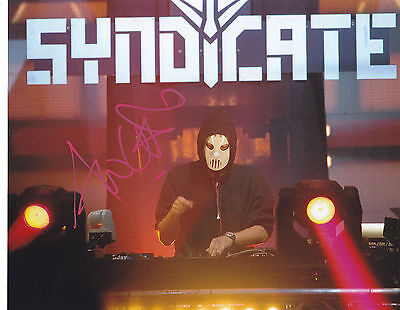 Angerfist Signed Autographed Techno Hardcore Gabber Edm 8X10 Photo  Proof #5