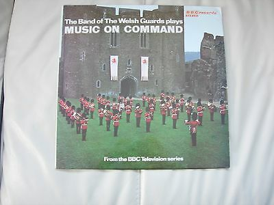 Welsh Guards Band vinyl LP - Music on Command