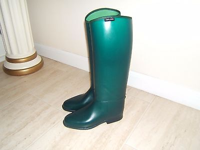NEW green riding boots size 6