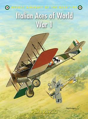 Italian Aces of World War 1 by Paolo Varriale (Paperback, 2009)