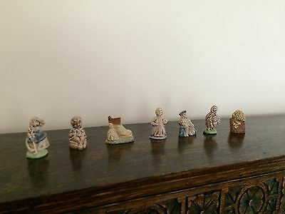 Beautiful Collection of  Wade Whimsies Nursery Rhymes Figures  Perfect