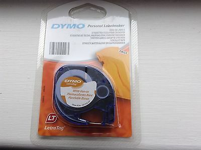 DYMO Label White Iron-on 12mm x 2m for DYMO LETRATAG label makers