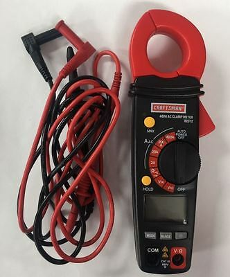 Craftsman Digital Clamp-On Ammeter  82372