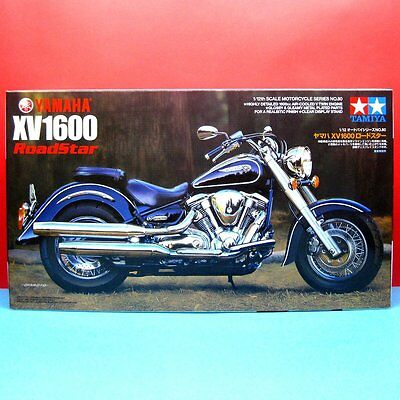 Tamiya 1/12 Yamaha XV1600 Roadstar [1/12 Motorcycle Series] model kit #14080