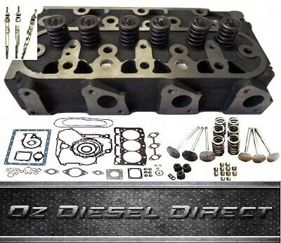 D1105 Kubota Complete Cylinder head with Full Gasket kit