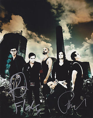 Rammstein Signed Autograph 8X10 Photo  Du Hast  Proof  Must See