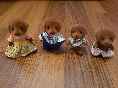 Sylvanian Families - Brown Dog Family