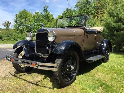 1929 Ford Model A  1929 Ford Model A Roadster Ready to drive or show!!!