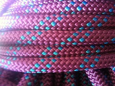 New and unused pro dynamic climbing rope. 80 m x 9mm.