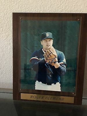 Roger Clemens Signed Autographed Picture Framed Plaque