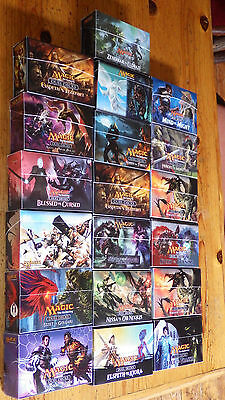 Magic the Gathering, MTG, Duel Decks, All 38 Ultra Pro Sleeved/UP Boxed, Decks