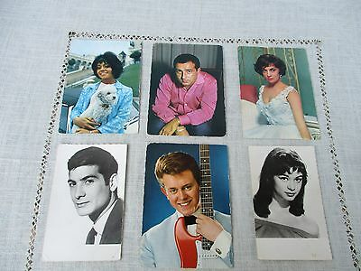 Lot Cartes Postales Photo Ancienne - Celebrite - Chanteuse
