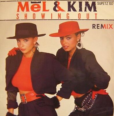 """Mel & Kim – Showing Out (The Freehold Mix) 1986 - 12"""" Vinyl Single  EX/EX"""