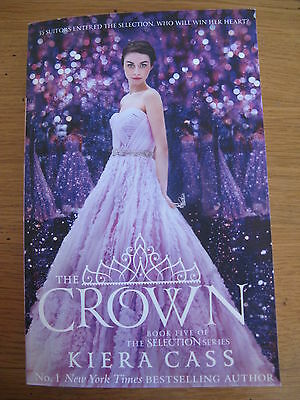 The Crown (the Selection, Book 5) by Kiera Cass (Paperback, 2016) Ex Cond