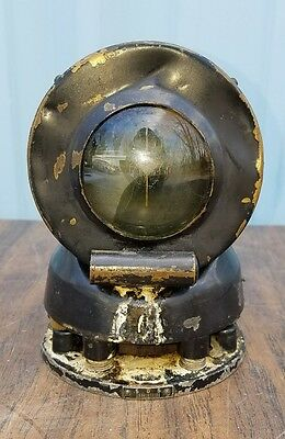 Antique Rare Original Brass Vtg Self Stabilizing Marine Ship Binnacle Compass