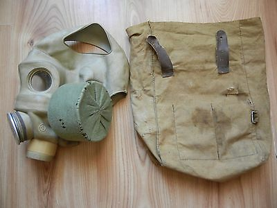 Rare Origina Soviet army military Gas mask PMG. Russian troops gas mask set USSR