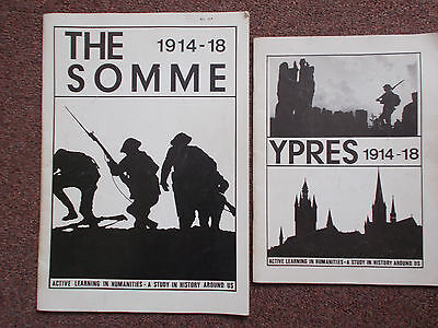 YPRES & SOMME Learning In Humanities Booklets by Lesle Coates, First World War