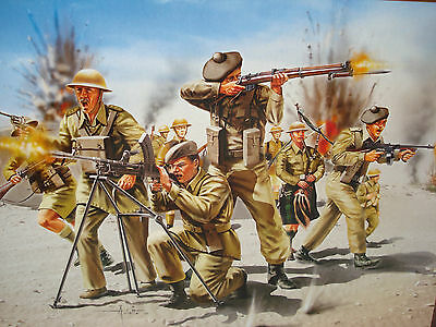 Revell (02512) WWII Scottish Infantry, 8th Army (1/72) NO BOX