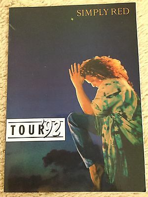 Simply Red Tour 92