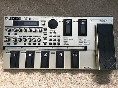 Boss GT-6 Guitar Effects Processor (in Good Condition)