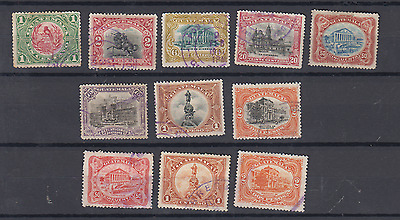 Guatemala 1902 Definitives To 2P & Colour Changes Used Selection