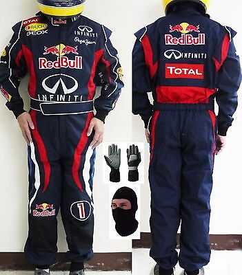 RedBull Go Kart Race Suit CIK FIA Level 2 Approved with free gift Gloves