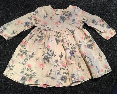 Next Baby Girl Dress 9-12 Months Summer Holiday New And Unworn BNWOT