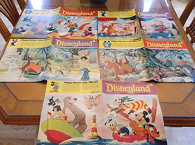 Vintage 1970's Disneyland 5 Magazine Lot Jungle Book Mowgli Baloo Exc Condition
