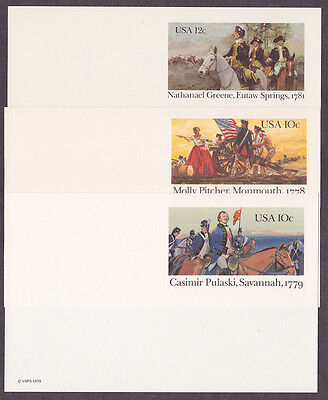 United States collection unused postal cards
