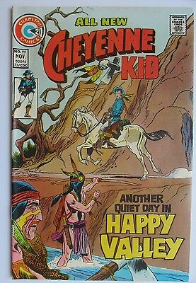 Vol. 5 99 CHEYENNE KID COMIC 1973 - KEY LAST ISSUE Charlton VF- / VF