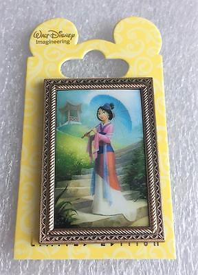 Disney WDI Princess Fairytale Hall Portraits Mulan LE 200 Cast Exclusive Pin