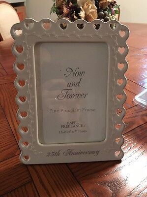 Now And Forever Porcelain Frame 5X7