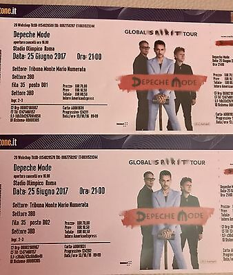 Depeche Mode concert in Roma 2x tickets
