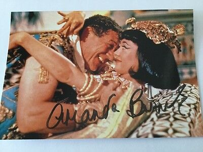 """Amanda Barrie """"Carry on Cleo"""" signed picture"""